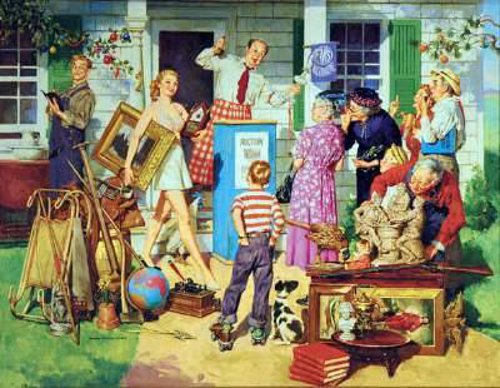 Auction Scene