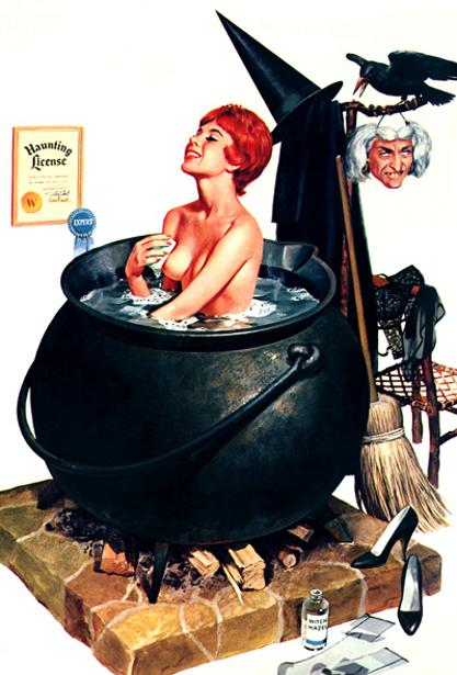 Bathing Witch