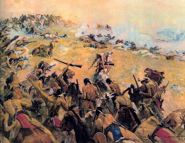 """a review of the story of the battle of the little big horn Read troopers with custer: historic incidents of the battle of the little big horn by e a brininstool with rakuten kobo """"no one survived in custer's."""