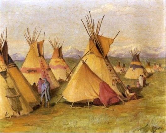 Blackfeet Teepees