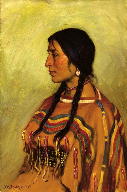 Blackfoot Indian Girl