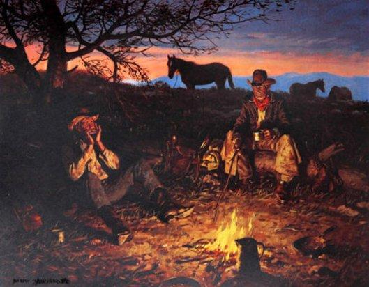 Blue Harmonica - Campfire