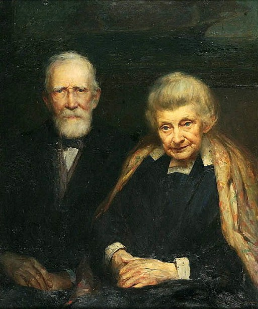 Captain Isaac White And Wife
