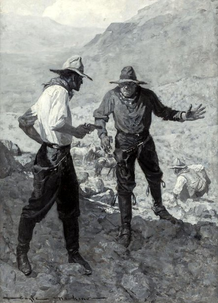 Confrontation Between Two Prospectors