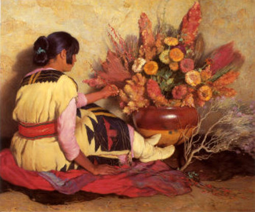 Crucita, A Taos Indian Girl