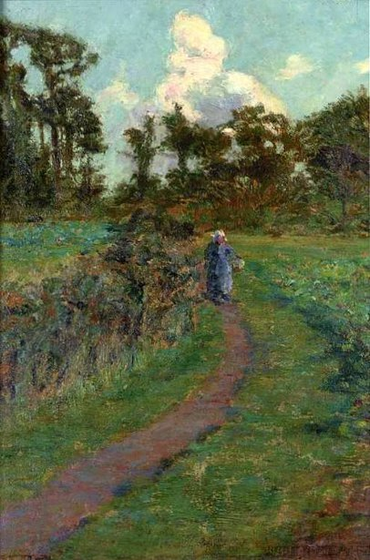 Figure On A Path, Brittany