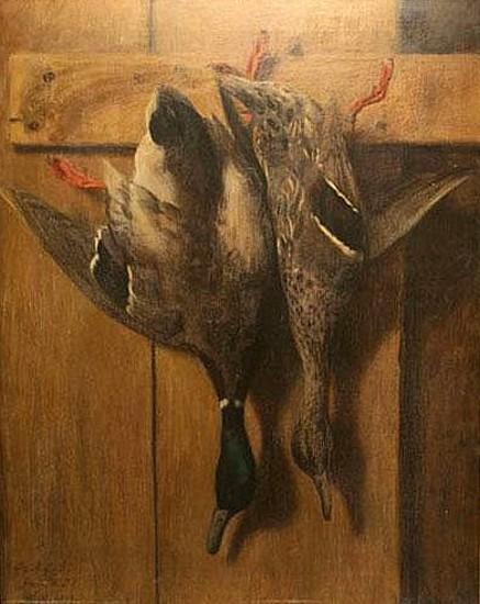 Hanging Mallards