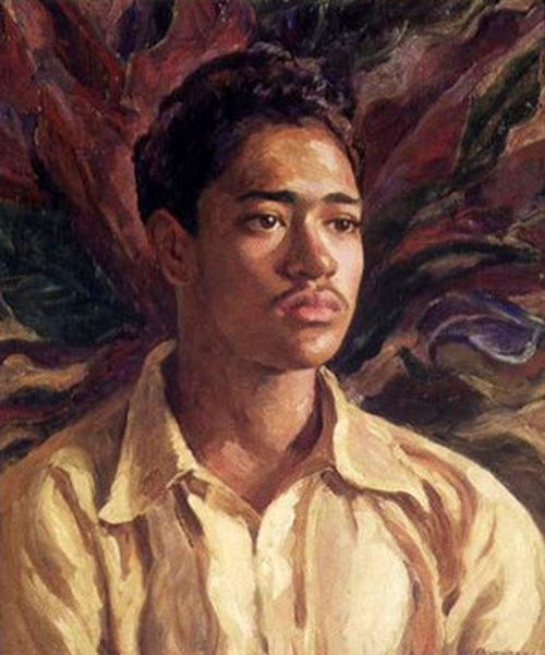 Hawaiian Boy (Abraham Kamahoahoa)