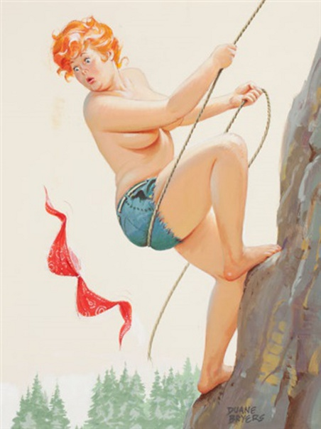 Hilda Rock Climbing