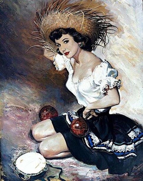 Nancy's Portrait (The Artist's Wife)