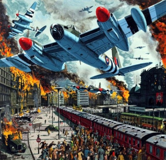 The 1300 Bomber Strike On Dresden