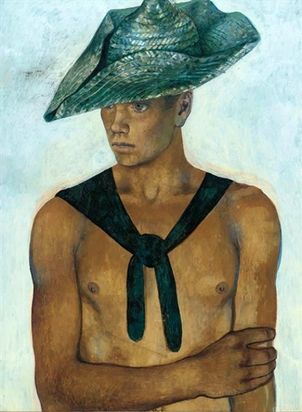 The Green Straw Hat (Giovanni)