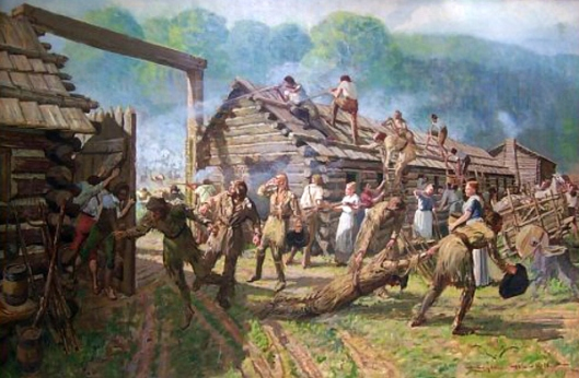 The Siege Of Fort Boonesborough
