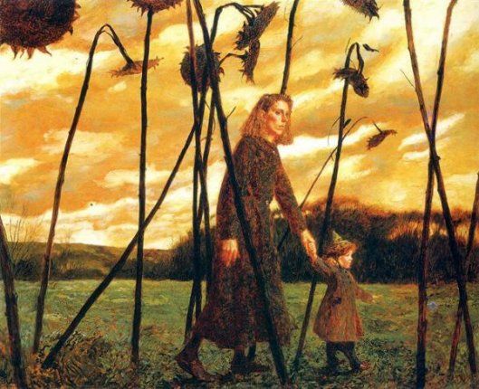 Giuliana And The Sunflowers