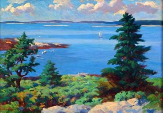 Off The Maine Coast