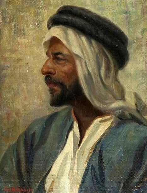 Self Portrait In A Turban