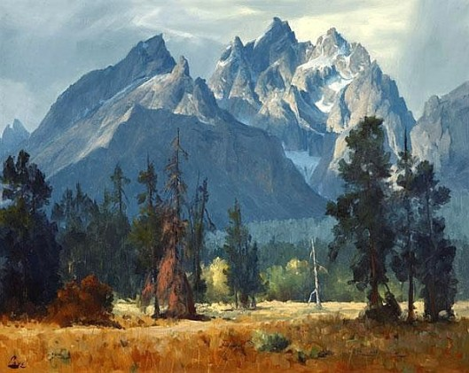 Tetons In Fall