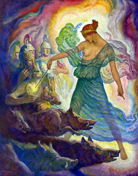 Circe And The Swine