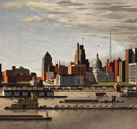 City Of St. Louis Riverfront