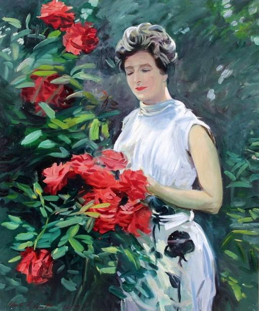 Rosy Springtime - Sally At Herbert Park