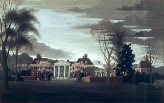 The British Embassy From The Garden, Washington