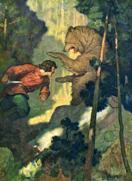 When he was fourteen, Michael Strogoff had killed his first bear