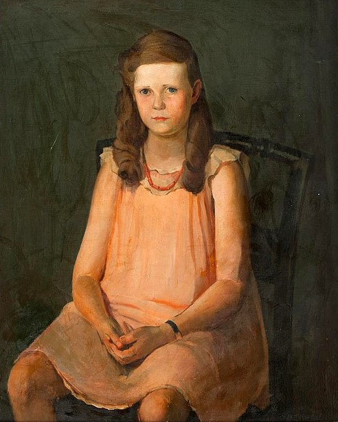 A Seated Girl