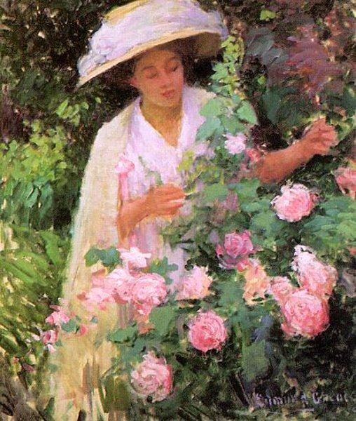 Ethol With Roses