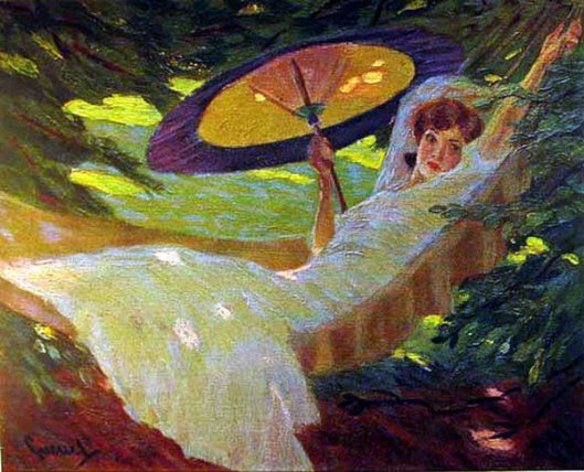 Girl In The Hammock