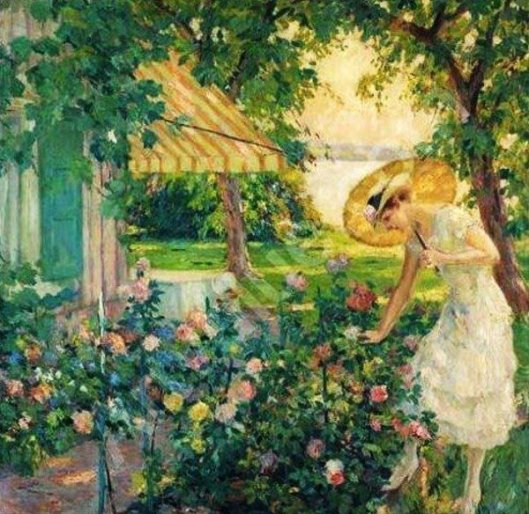 In The Rose Garden