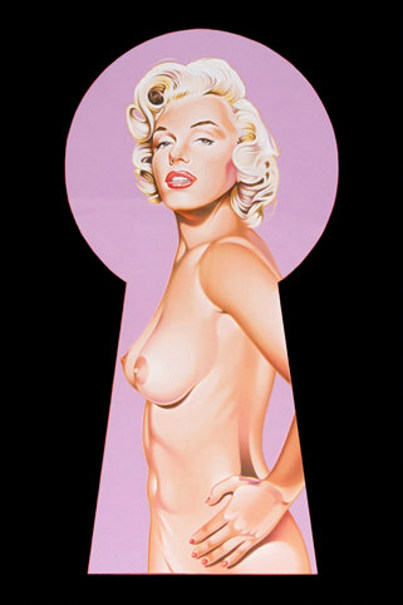 Peek a Boo Marilyn