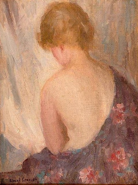Portrait Of A Woman - Seated Woman