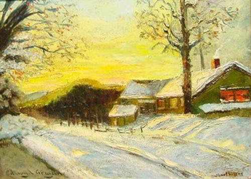 Short Hills, New Jersey In Winter
