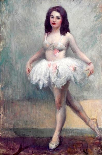Standing Ballerina