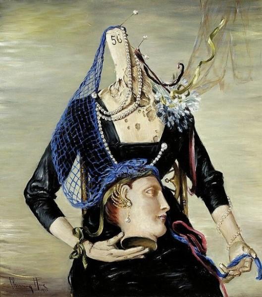Surrealist Portrait Of A Woman