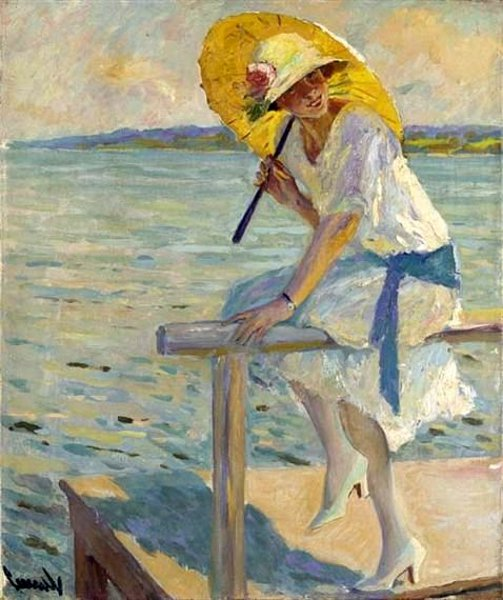 The Yellow Parasol
