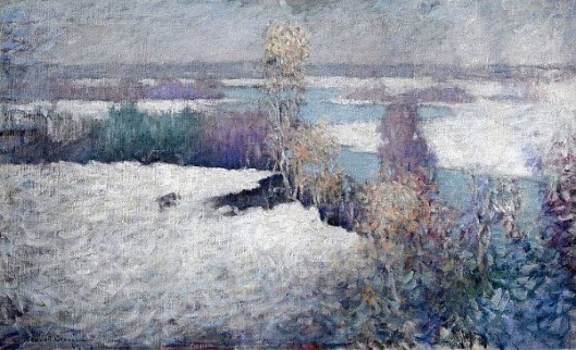 Winter Landscape, Lieutenant River, Old Lyme