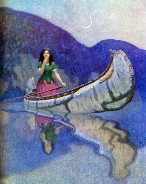 Erectin canoe