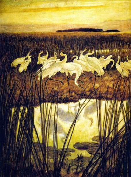 Dance Of Whooping Cranes
