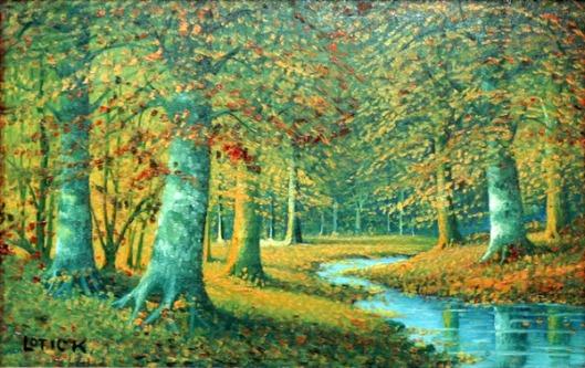 Autumn Landscape - Autumn Stream