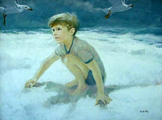 Boy With Gull