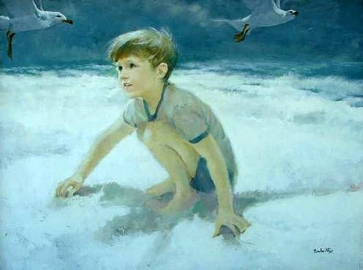 Boy With Gull