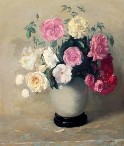 Floral Still Life, Roses