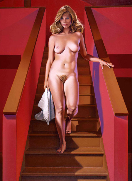 Nude Descending A Staircase