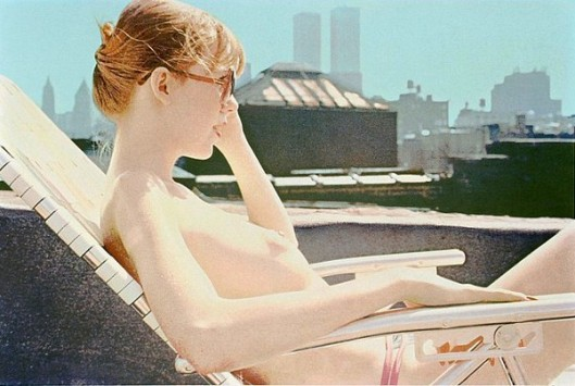 Roof-top Sunbather