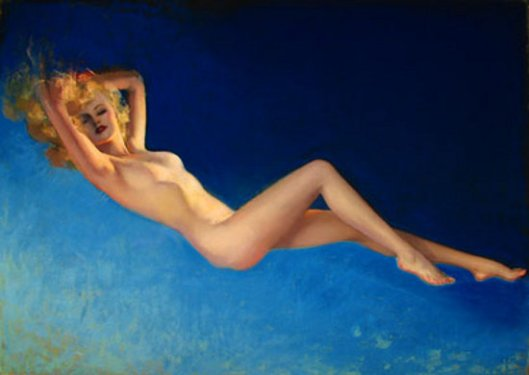 The Blue Nude