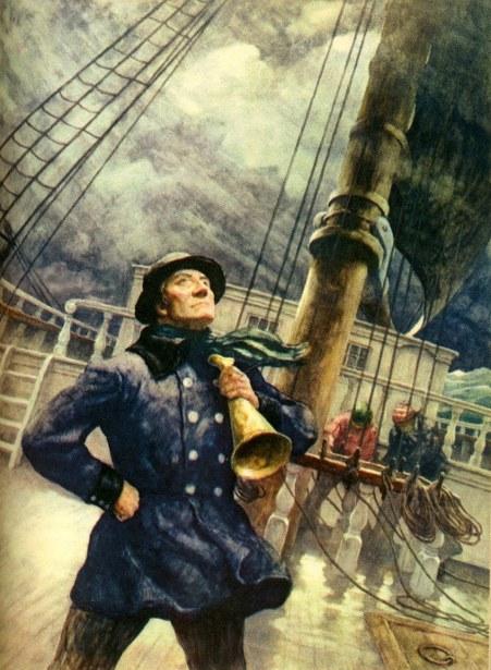 Dan'l Nason, Sailing Master
