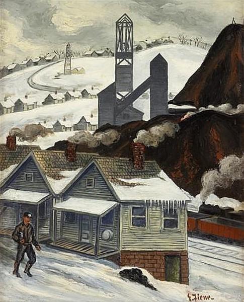A Mining Town