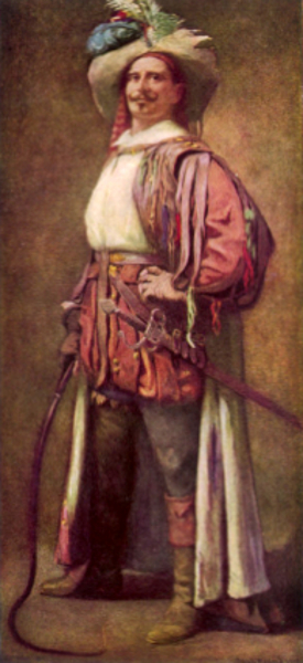 Edward H. Sothern as Petruchio in Taming Of The Shrew