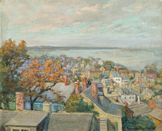 Looking Over Old Marblehead